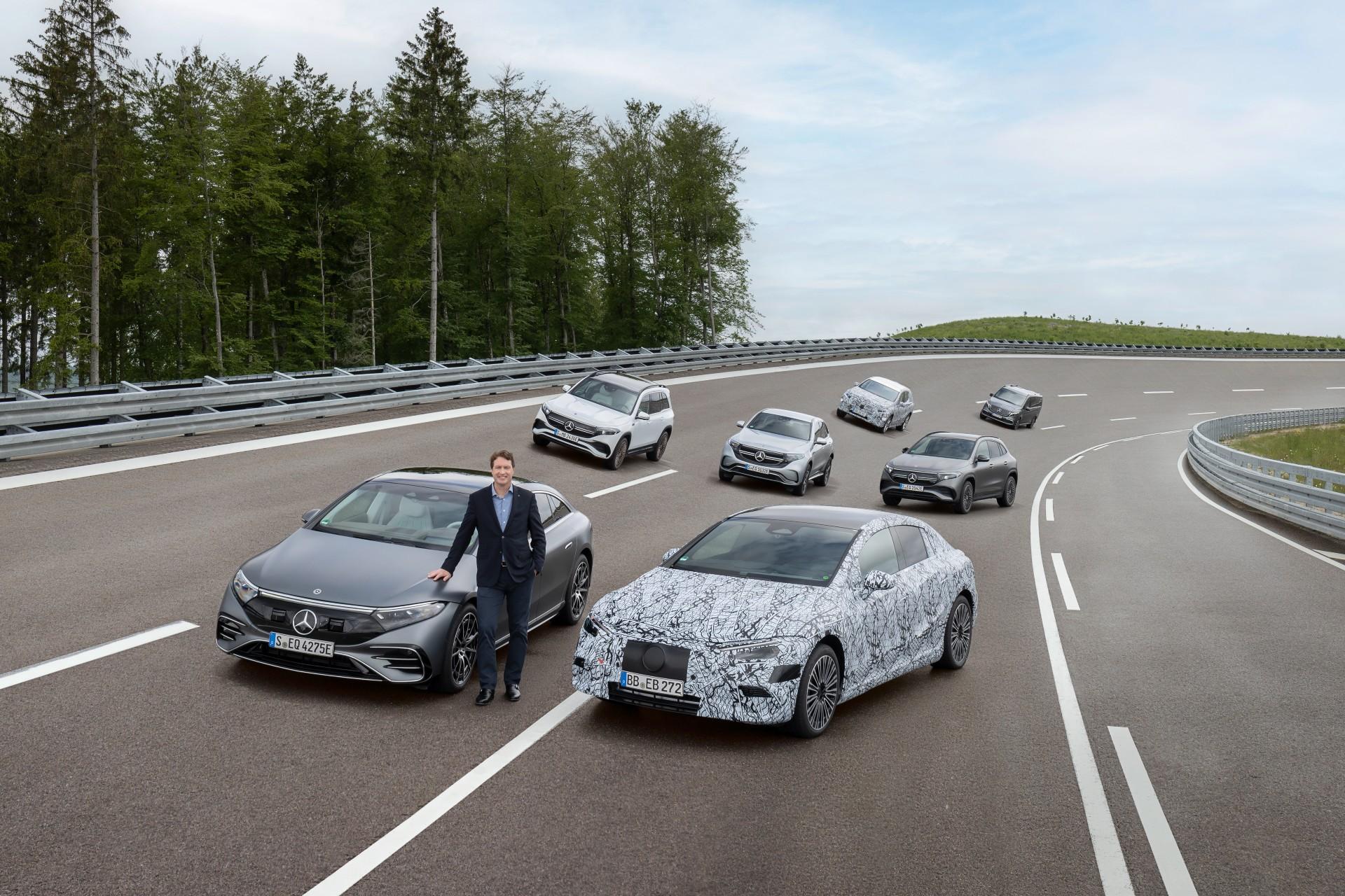 Mercedes-Benz объявляет о полностью электрической стратегии с 2025 года