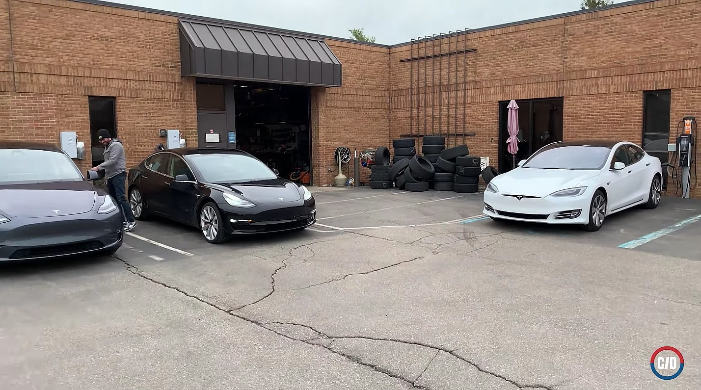 Tesla и ее сеть нагнетателей доминируют в тестах электромобилей на 11 километров на 1000 миль