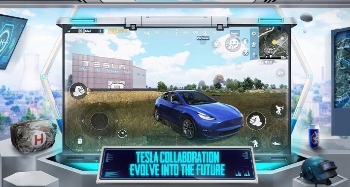 Тесла появляется в популярной видеоигре Battle Royale, Semi, Model Y дебютируют в играх